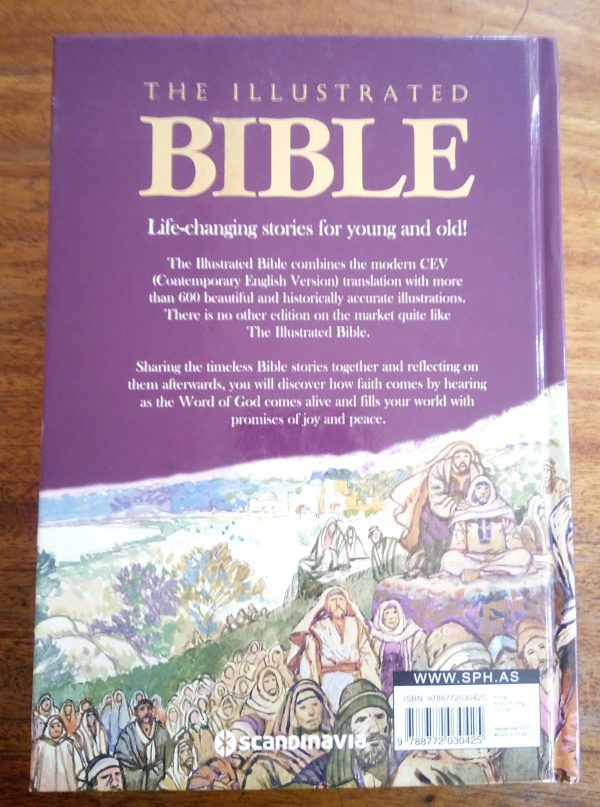 The illustrated Bible Back Page