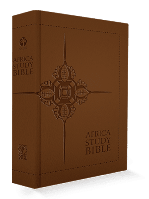 Africa Study Bible - Tan Faux Leather